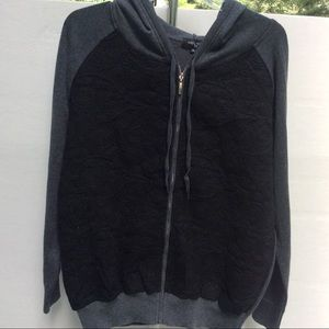 Women's Colour Works knit hooded sweater